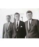 Senator Teddy Kennedy John Bobby young  photo reprint 5 x 7 - $4.99