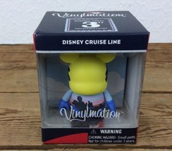 "Disney Vinylmation 3"" Disney Cruise Line Castaway Navy Collectable - $27.71"