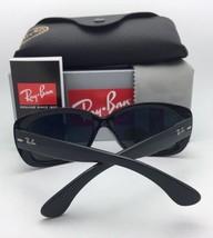Polarized RAY-BAN Sunglasses JACKIE OHH RB 4101 601/T3 Black Frame w/ Grey Fade