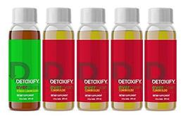 Detoxify Ever Clean Cleansing Program – Honey Tea Flavor – 5 x 4oz bottles | Pro image 3