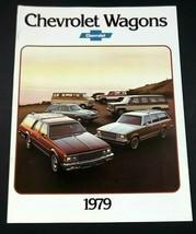 Chevrolet 1979 Wagon Sales Brochure Impala Monza Malibu Caprice Original - $7.49