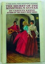 Dana Girls Secret of the Minstrel's Guitar white spine no.5 hc Carolyn K... - $5.99
