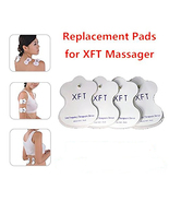 4 Pcs XFT Electric Massager Replacement Pads For XFT-320 XFT-502 (2 Pairs)  - $9.89