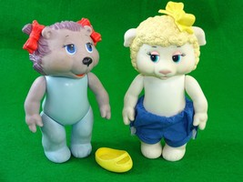 Vintage 1984 Tomy Get-Along-Gang Woolma Lamb & Portia Porcupine Plastic ... - $12.62