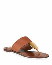 Tory Burch Patos Flat Disk Sandal Mou Size 7.5 Msrp: $248.00 - $148.49