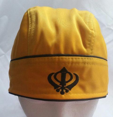 Punjabi Sikh Boy Singh Khalsa pathka turban bandana pagri pagg ORANGE PATKA GIFT
