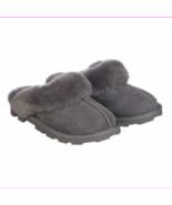 Kirkland Signature Womens Shearling Slipper-Grey Size 8 - $34.10
