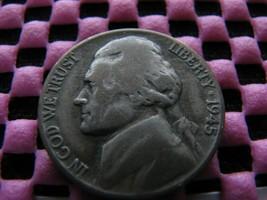 "1943-p "" Double Eye "" and 1945-p Doubled Die Reverse Jefferson Nickel Va... - $95.00"