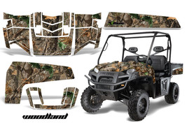 UTV Decal Graphics Kit Wrap For Polaris Ranger XP 500/700 2009-2014 WOOD... - $393.97