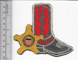 US Secret Service USSS Texas Dallas - Irving Field Office Service Red Patch  - $12.99