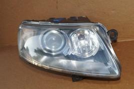 05-08 Audi A6 Xenon HID Headlight Head Light Lamp w/ AFS Passenger Right RH image 1