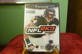 NFL 2K3 (Nintendo GameCube, 2002) VG Condition W/ Booklet - $8.90