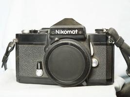 Nikon Nikomat Ftn Black Japan Version Slr Camera - Rare VERSION- - $50.00