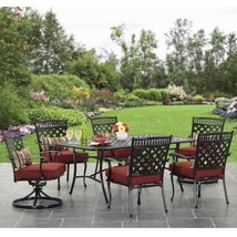 Better Homes and Gardens Dawn Hill 7-Piece Aluminum Dining Set - $791.99