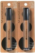 2 Covergirl 0.12 Oz Full Spectrum All Day Idol FS270 Med Tan Golden Concealer - $18.99
