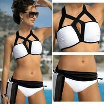 Summer Women Padded Wireless Bikini Set Two Piece Swimwear Swimsuit Beachwear US image 4
