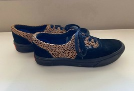 VANS Off the Wall 500664 Lace Up Casual Dot Print Shoes Men's 5 Women's 6.5 - $19.99