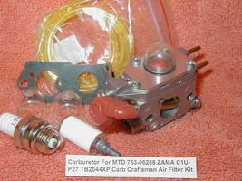 Service Carburetor For MTD Troy Bilt 753-06288 ZAMA C1U-P27 TB2044XP Cra... - $12.93
