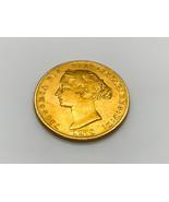 High Grade 1870 Australia Queen Victoria Young Head Sydney Mint Gold Sov... - $699.99