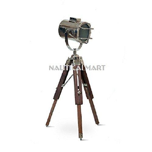 Nauticalmart Design Marine Table LampTripod Search light - $98.01