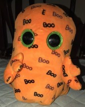 """Ty Beanie Boos ~ GHOULIE the 9"""" Ghost MEDIUM Buddy Size 2016 Plush Ghost - $11.87"""