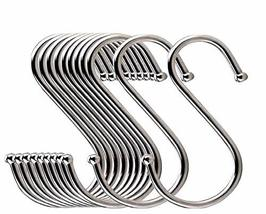 LOYMR 10 Pack 4.7 Inches Extra large S Shape hooks Heavy-duty Metal Hanging Hook image 8