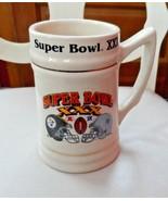 1995 PITTSBURGH STEELERS SUPER BOWL XXX CERAMIC MUG STEIN DALLAS COWBOYS - $28.00