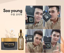Soo Young Korea High Quality Acne Cream Skin Care Treatment Set image 7