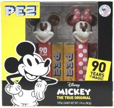 Pez 1.74 Oz Disney Mickey The True Original 90 Years Of Magic Candy BB 5/2024 - $16.99