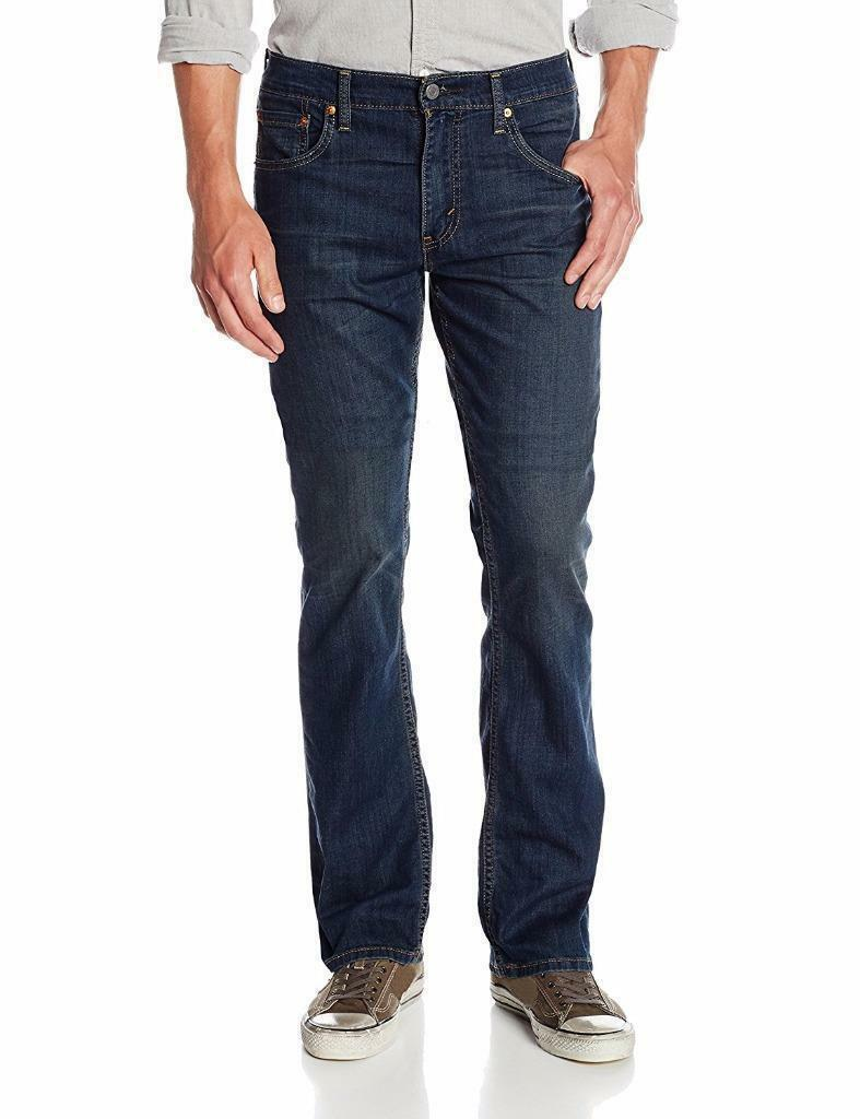 Levi's Strauss 527 Men's Premium Slim Bootcut Jeans Covered Up Stretch 527-0452