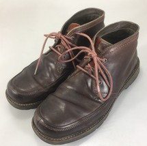 Merrell Men Chukka Boots Shoes Size 11 Cinnamon Brown Leather Lace Up Ca... - $73.50