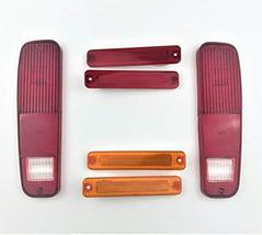 A-Team Performance 73-79 FORD F-150 F150 F250 Truck 78-79 Bronco 6pc Tail Light