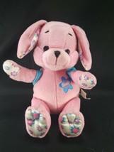 Barbie Plush Pink Blue Stuffed Dog Turns into Star Genuine 2001 Flower E... - $26.72