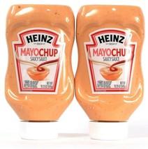 2 Bottles Heinz 19.25 Oz Mayochup Saucy Sauce 160 Cals Per Serving BB 7/... - $20.99