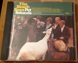The Beach Boys Pet Sounds Cd (1990) Bonus Tracks Capitol - $8.99