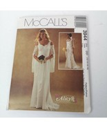McCalls 3944 Sz 12 14 16 18 Wedding Sleeveless Dress Alicyn Pattern Uncut - $29.99