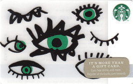 Starbucks 2014 Face Parts Collectible Gift Card New No Value - $4.99