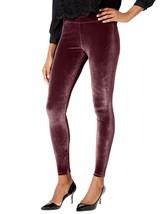 Hue Velvet Leggings Sangria Burgundy Size XS - $36 - NWT - $19.95