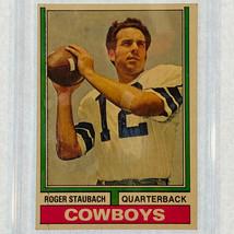 1974 Topps Roger Staubach Dallas Cowboys QB #500 With Hardcase - $14.84