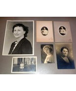 Virginia May Howe Fifield (6) Antique Photos & Mother Mary Howe - Patten... - $104.50
