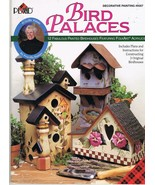 Bird Palaces Decorative Painting Project Craft Book - $9.95