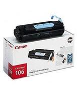 Canon Genuine Brand Name, OEM 0264B001 Type 106 Black Toner Cartridge (5... - $207.50