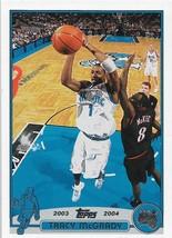 Tracy McGrady Topps 03-04 #1 Orlando Magic Houston Rockets Toronto Raptors - $0.50