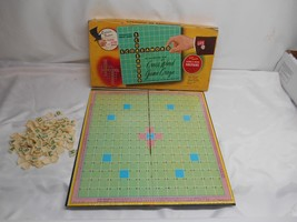 Old Vtg 1963 Transogram SCORE-A-WORD Cross Word Game Craze 100 Tiles - $19.79