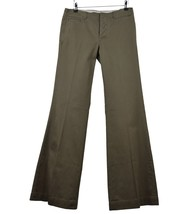 Ralph Lauren Pantalon Olive Kaki Coton 4USA Evasé 36FR Chino Cargo Flared Pants - $27.45