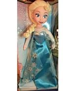 Disney Frozen Elsa Doll Soft Body 14 Inches - $19.99