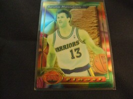 1993-94 Topps Finest #12 Sarunas Marciulionis -Golden State Warriors- - $3.12