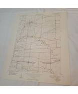 1948 VTG Map New York Clarence geological survey engineers dept of army ... - $64.35