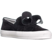 Nine West Odienella Bow Tie Slip On Sneakers, Black Multi - $53.50
