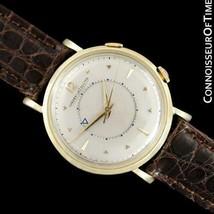 JAEGER-LECOULTRE MEMOVOX Mens Alarm Reveil Watch - Solid 14K Gold & SS - $1,759.10